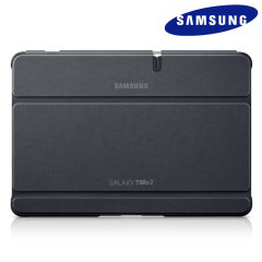 Official Samsung Galaxy Tab 2 10.1 Notebook Style Case -  Dark Grey