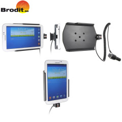 Safely mount and charge your Samsung Galaxy Tab 3 7.0 in your car with this Brodit active holder with integrated tilt and swivel ball joint.