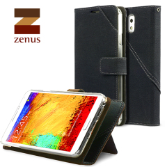 Zenus Masstige Cambridge Diary Galaxy Note 3 Tasche in Navy