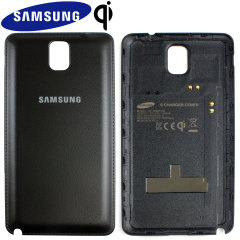 Official Samsung Galaxy Note 3 Qi Wireless Charging Cover - Black