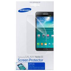 Protector de Pantalla Samsung Galaxy Note 3 oficial Samsung - Pack de 2