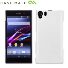 Funda Sony Xperia Z1 Case-Mate Barely There - Blanca