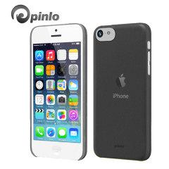Custodia Slice 3 Pinlo per iPhone 5C - Nero Trasparente