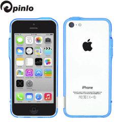 Bumper Pinlo BLADEdge per iPhone 5C - Blu Trasparente
