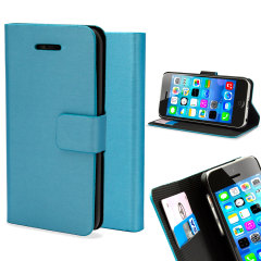 Metalix Book iPhone 5C Tasche in Hell Blau