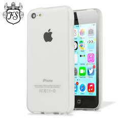 Flexishield Frosted Gel Apple iPhone 5C Case - Clear