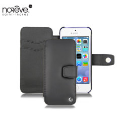 Noreve Tradition B iPhone 5C Ledertasche in Schwarz