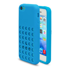 Funda iPhone 5C Circle - Azul