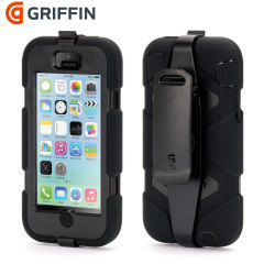 Griffin Survivor Case für iPhone 5C in Schwarz