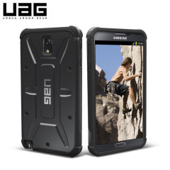 UAG Protective Case voor Samsung Galaxy Note 3- Scout - Zwart