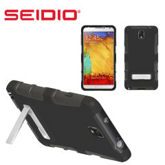 Seidio Dilex Case for Samsung Galaxy Note 3 with Kickstand - Black