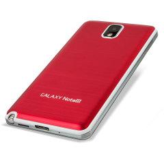 Metal Achterkant Cover Vervanging voor Samsung Galaxy Note 3 - Rood