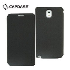 Capdase Sider Baco Folder Case for Galaxy Note 3 - Black