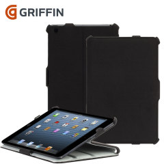 Griffin Journal en Workstand Case voor iPad Air - Zwart