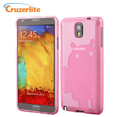 Cruzerlite Androidified A2 TPU Case voor Samsung Galaxy Note 3 - Roze
