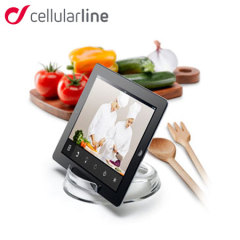 Cellularline Dual Position Cook and Stand für iPad und Tablets