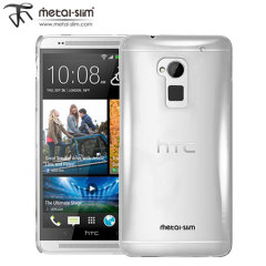 Metal-Slim Hard Case for HTC One Max - Clear