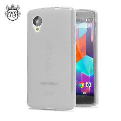 FlexiShield Case for Google Nexus 5 - Frost White