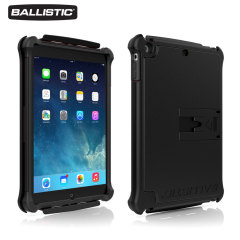 Ballistic Tough Jacket iPad Air Case - Zwart