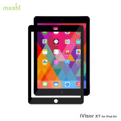 Moshi iVisor XT Screenprotector voor iPad Air - Zwart