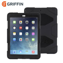 Griffin Survivor Case voor iPad Air - Zwart