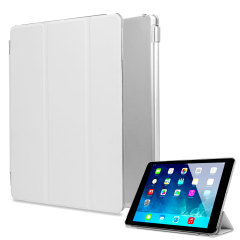 Smart Cover with Hard Back Case for iPad Air - White