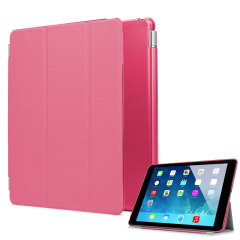 iPad Air Smart Cover mit Hard Case in Pink