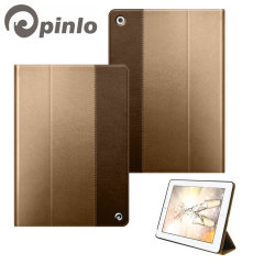 Pinlo Asti Collection for iPad Air - Metallic Brown