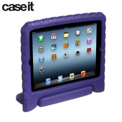 This chunky case from Case It in purple is big, fun and colourful. Designed to make it easier for kids to hold onto, and providing extra protection from drops and knocks.