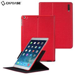 Capdase Folio Dot Folder Case for iPad Air - Red