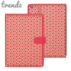Funda Trendz con Soporte y Tapa para el iPad Air - Coral