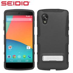 Seidio Dilex Case for Google Nexus 5 with Kickstand - Black