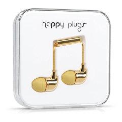 Happy Plugs InEar Kopfhörer Deluxe Edition in Gold