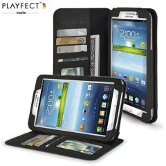 Playfect Alto 7 Stand Case für Samsung Galaxy Tab 3 7 0 in Schwarz