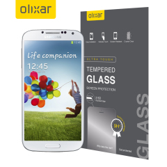 Olixar Tempered Glass Screen Protector for Samsung Galaxy S4
