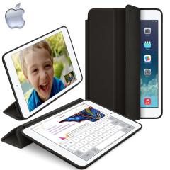 Original iPad Mini 2  iPad Mini Leder SmartCase in Schwarz