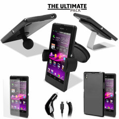 The Ultimate Sony Xperia Z1 Accessory Pack - Black