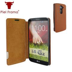 Piel Frama FramaSlim LG G2 Tasche in Braun