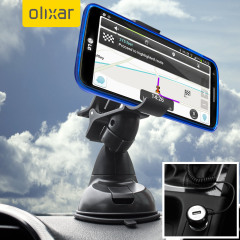 Hold your phone safely in your car with this fully adjustable DriveTime car holder. Includes a car charger for your LG G2.