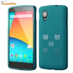 Cruzerlite CyanogenMod TPU Case for Google Nexus 5 - Teal