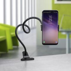 Universal Schwanenhals Long Arm ClipOn Smartphone Halterung