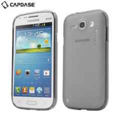 Capdase Soft Jacket Xpose Case for Samsung Galaxy Core - Smoke Black