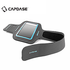 Capdase Sport ArmBand Zonic Plus 145A For Smartphones - Grey / Blue