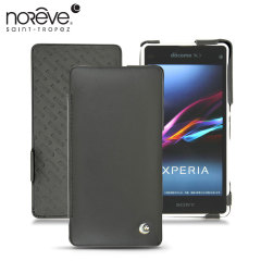 Noreve Tradition D Leather Case for Xperia Z1 Compact - Black