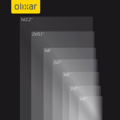 Keep all your smartphone and tablet screens in pristine condition with this 10-in-1 pack of Universal Olixar scratch-resistant screen protectors.