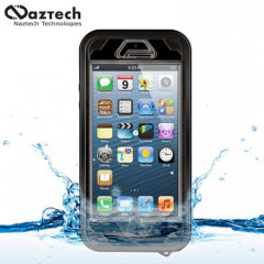 Funda Waterproof Naztech para el iPhone 5S / 5 - Negra