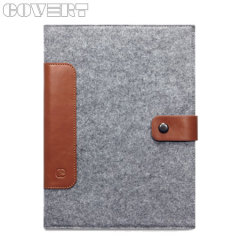 Housse iPad Air Covert Cavalry– Gris / Marron