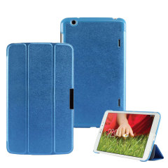 Stand and Type Folio Case for LG G Pad 8.3 - Blue