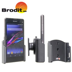 Use your Sony Z1 Compact safely in your vehicle with this small, neat and discreet Brodit Passive holder