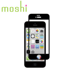 Moshi iVisor Glass Screen iPhone 5S/ 5C /5 Displayschutz in Schwarz